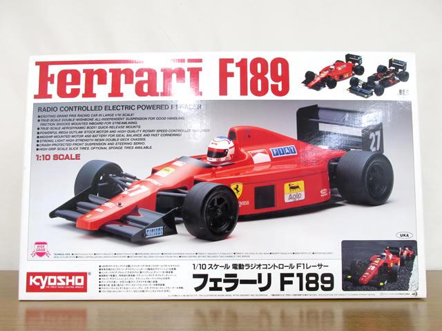 京商 1/10スケール フェラーリF189