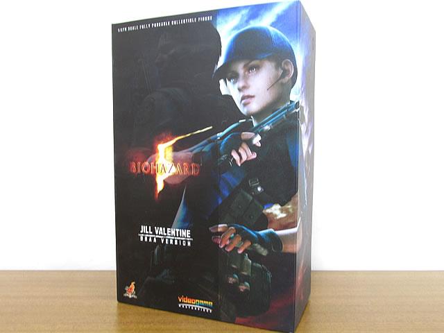 ホットトイズ ビデオゲームマスターピース バイオハザード5 ジル・バレンタイン BSAA版 1/6スケールフィギュア