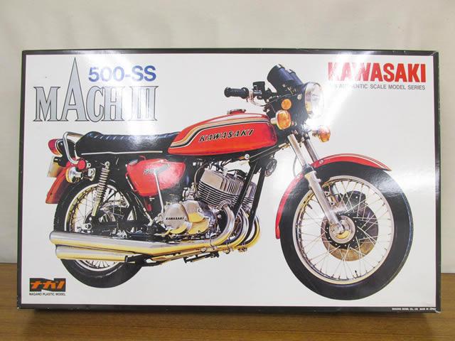 ナガノ 1/8スケール KAWASAKI カワサキ マッハIII 500-SS