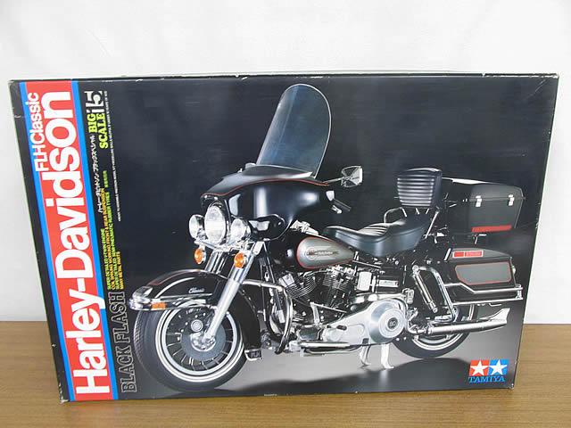 タミヤ 1/6 ビッグスケールシリーズ15 ハーレーダビットソン ブラックスペシャル プラモデル