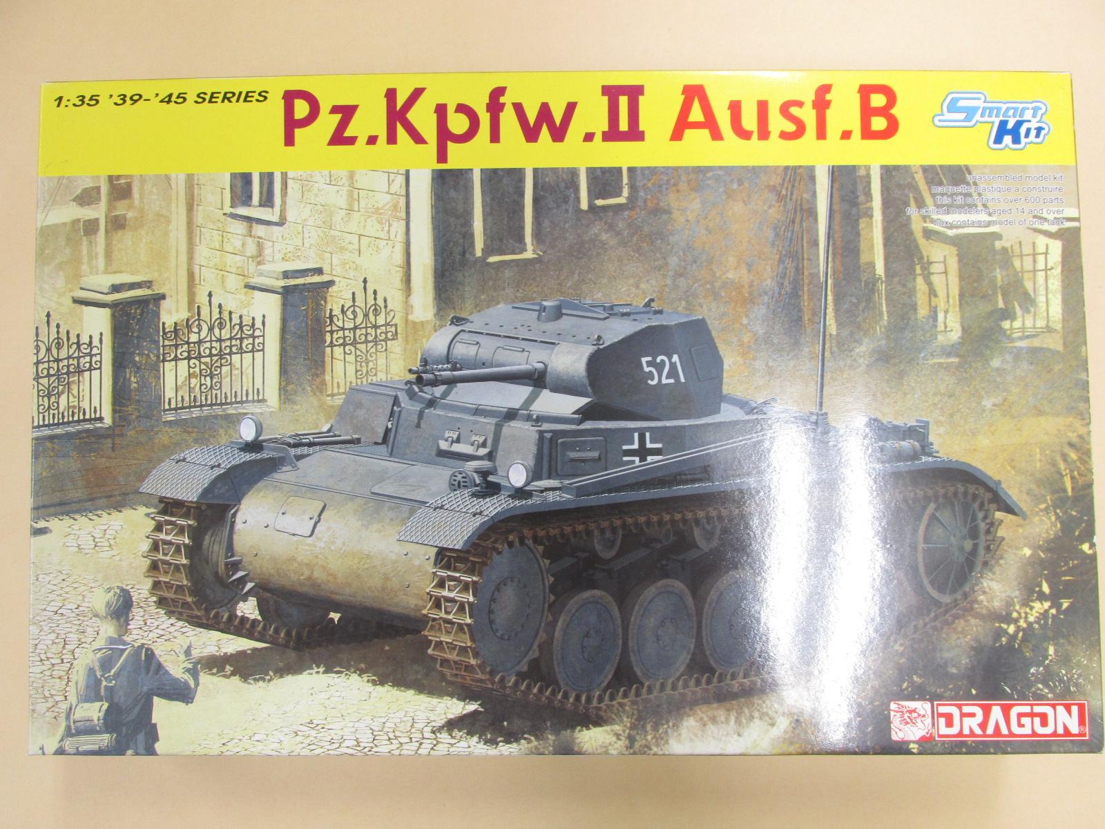 ドラゴン 1/35 ドイツ軍2号戦車B型 スマートキット