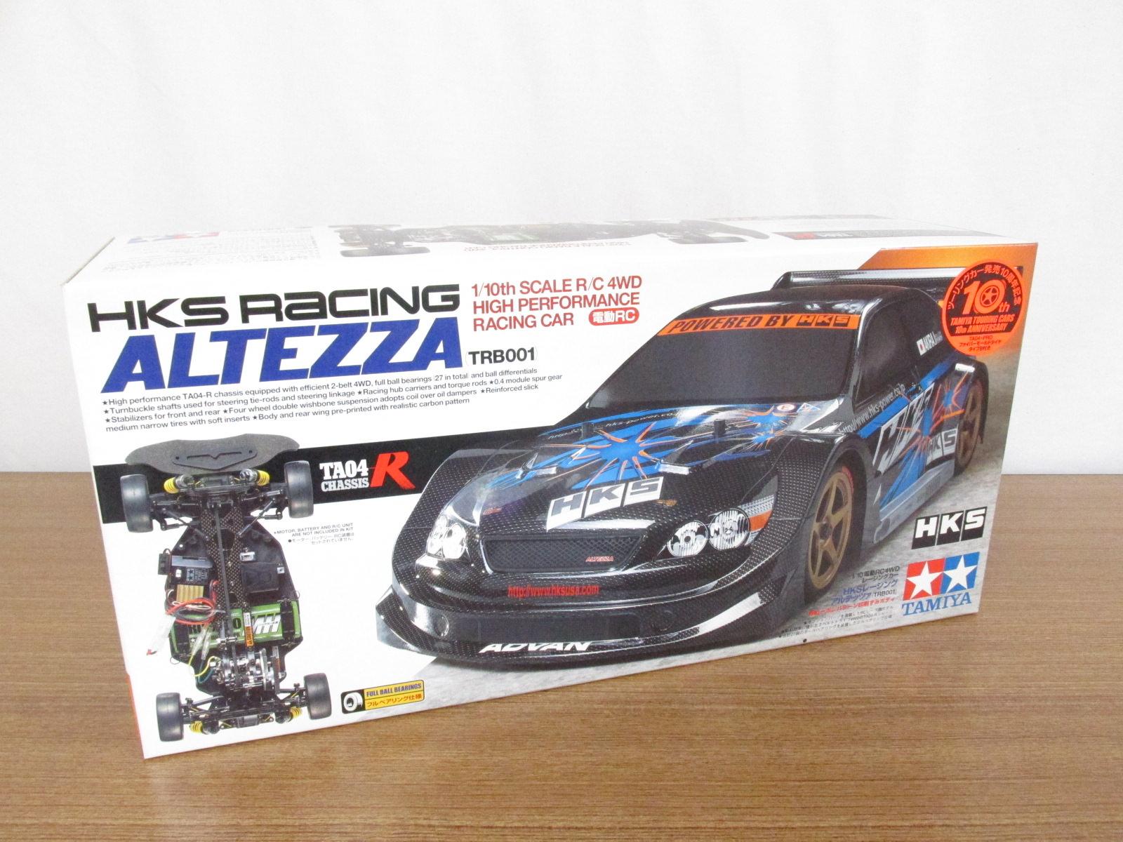 タミヤ 1/10スケール 電動RC4WDレーシングカー HKSレーシング アルテッツァ(TRB001) フルベアリング仕様