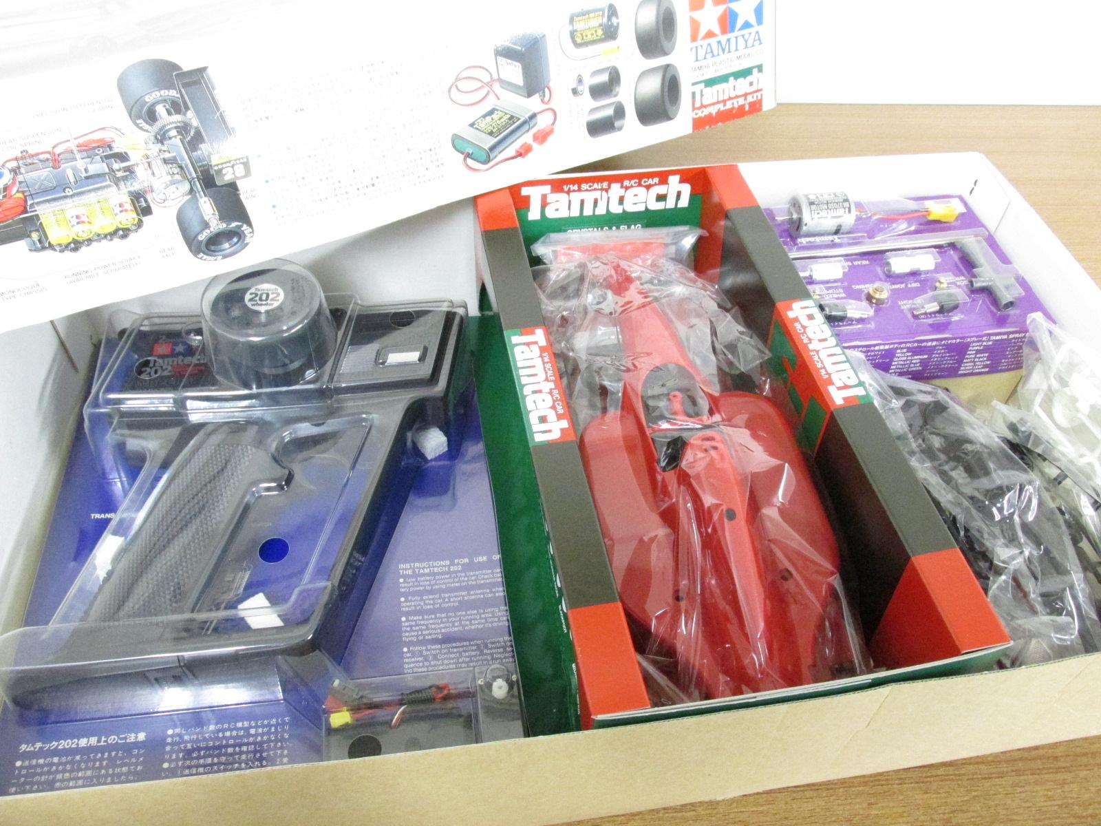 タミヤ 1/14スケール タムテックRCシリーズNo.8 フェラーリ 643 フルセット