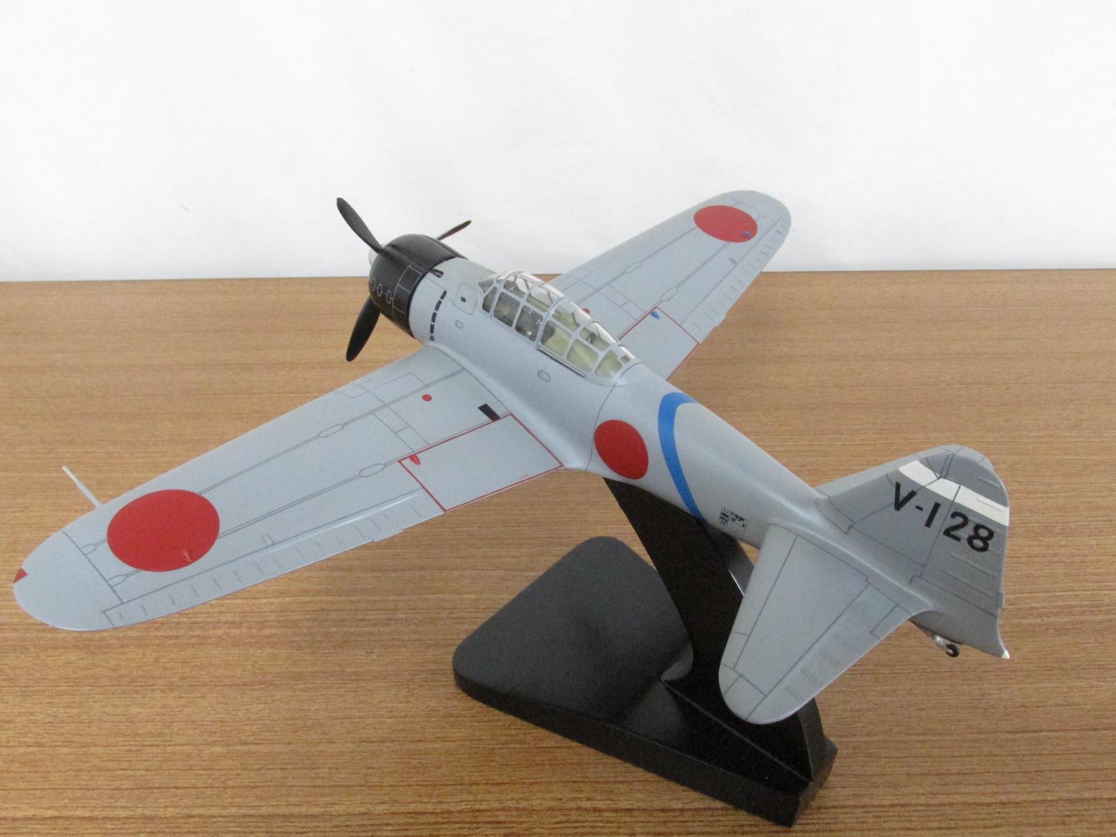 ウイングクラブ 1/32スケール デスクトップモデル   零式艦上戦闘機21型
