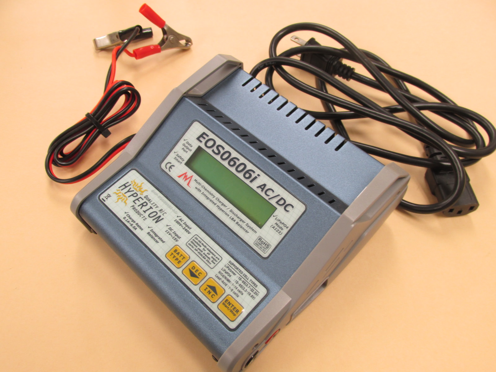 ハイペリオン EOS0606i AC/DC 急速充電器 欠品あり