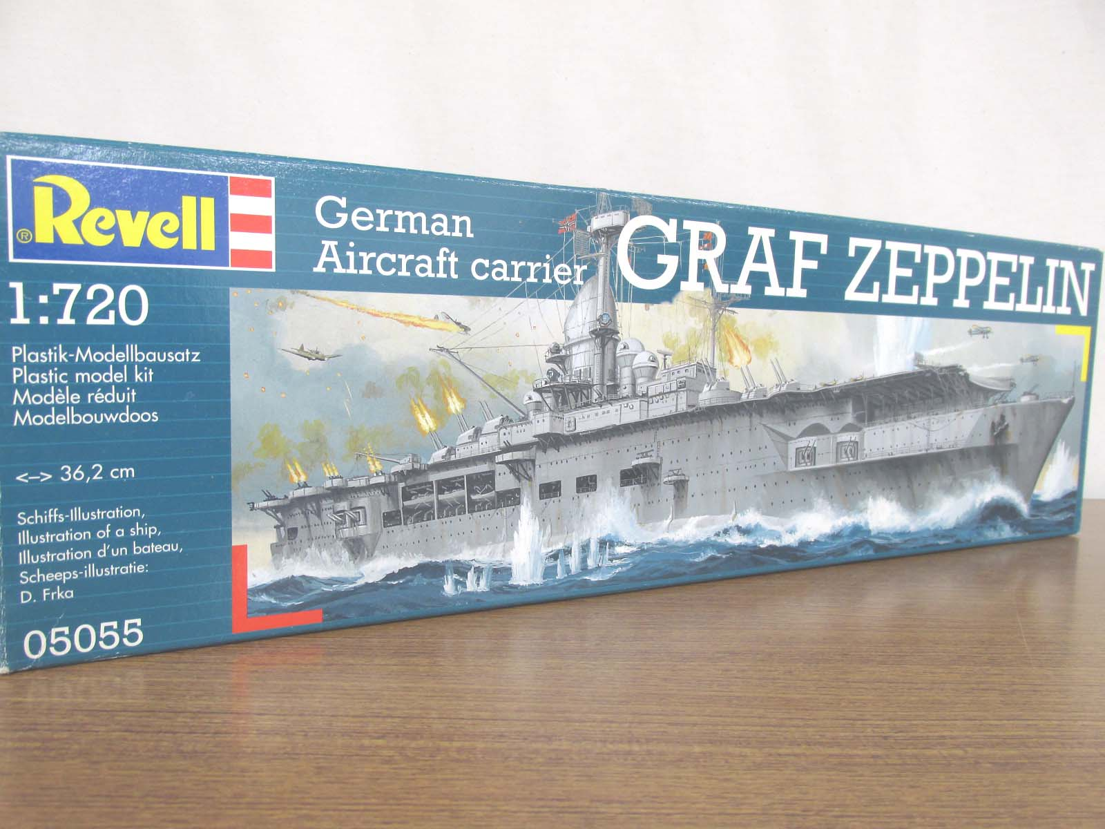 Revell 1/720スケール German Aircraft carrier GRAF ZEPPELIN