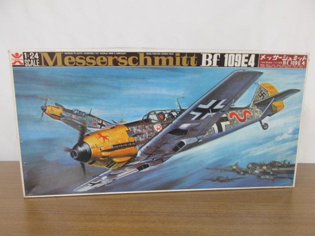 バンダイ 1/24スケール ドイツ空軍 メッサーシュミット Bf109E4