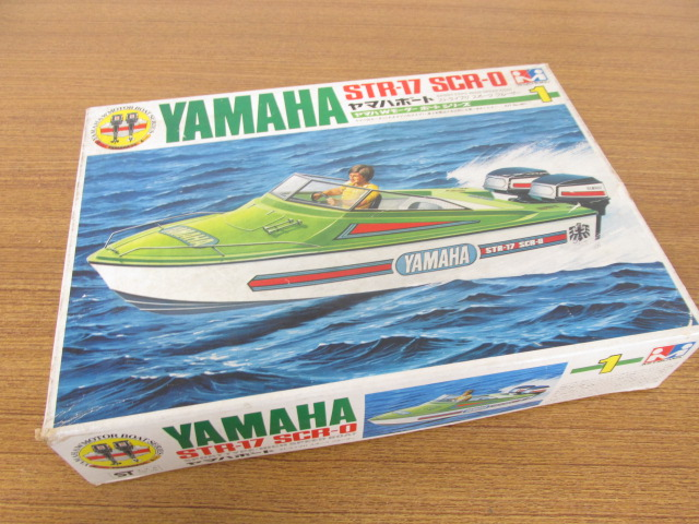 ミツワモデル YAMAHA STR-17 SCR-0 ヤマハボート ストライブ17 スポーツクルーザー /プラモデル