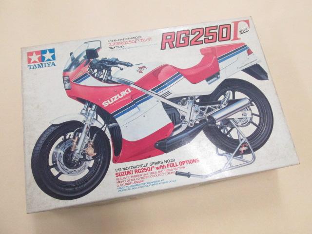 タミヤ 1/12スケール オートバイシリーズNo.29 スズキRG250Γ(ガンマ) フルオプション