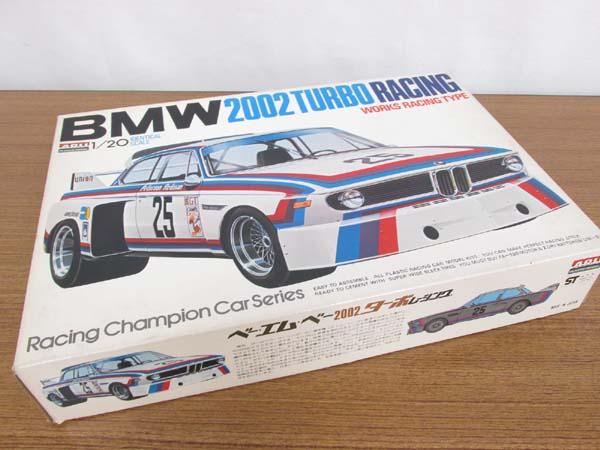 アリイ 1/20 BMW 2002 TURBO RACING WORKS RACING TYPE/ベーエムベー2002ターボレーシング