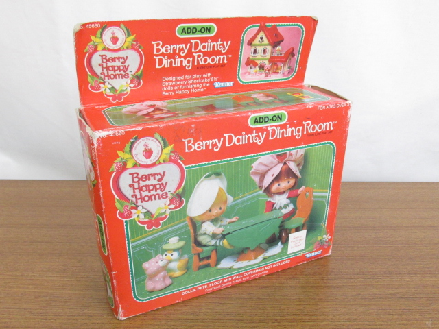 Kenner(ケナー) Strawberry Shortcake Berry Happy Home /Berry Dainty Dining Room