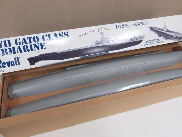 Revell(レベル) 1/72 WWII GATO CLASS SUBMARINE/ガトー級潜水艦 プラモデル