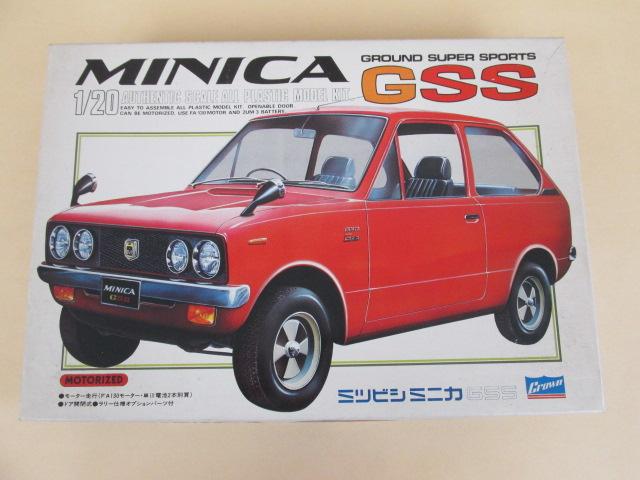クラウン 1/20スケール MINICA GSS ミツビシミニカ GSS モーターライズ
