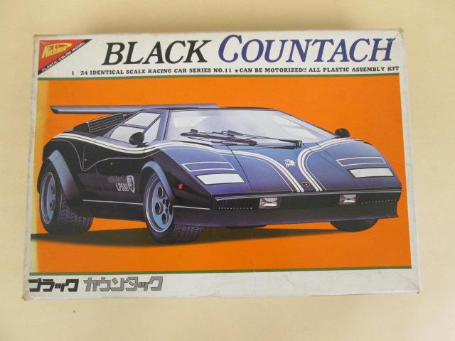 ニチモ 1/24レーシングカーシリーズNO.11 BLACK COUNTACH ブラック カウンタック
