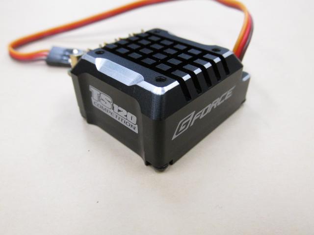 G-Force(ジーフォース) TS120A ESC ブラックアルミエディション/アンプ
