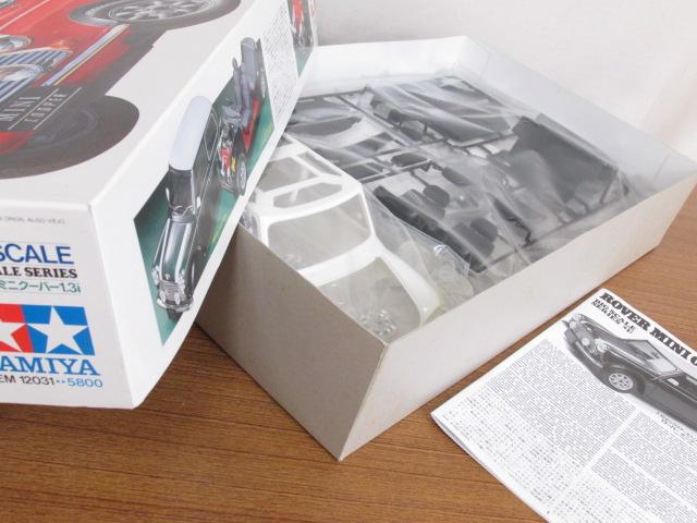 タミヤ 1/12スケール ビッグスケールシリーズNo.31 ローバー ミニクーパー1.3i