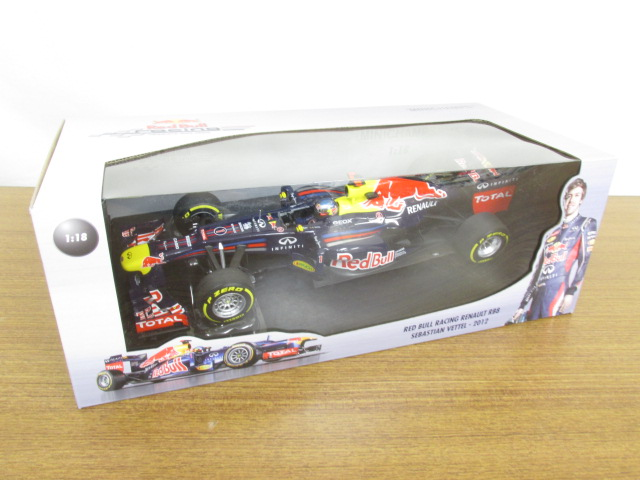 MINICHAMPS(ミニチャンプス) 1/18 Red Bull Racing Renault RB8 S.Vettel, 2012 #1