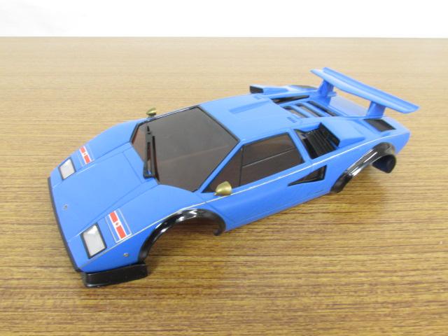 オートスケールコレクション ランボルギーニ カウンタック LP500S ブルー
