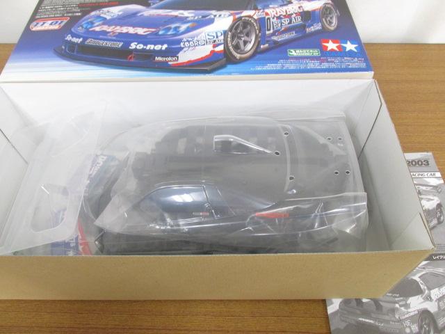 タミヤ 1/10 レイブリックNSX2003 組立キット TT-01シャーシ