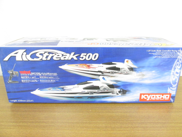 ラジコンボート 京商 Air Streak500 EP