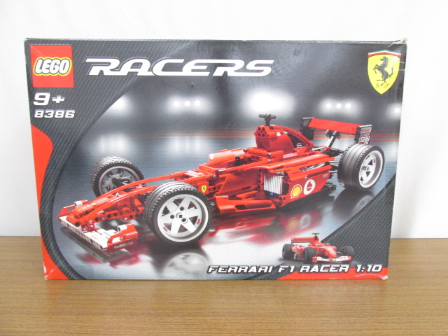 LEGO(レゴ) 8386 FERARRI F1 RACER 1/10