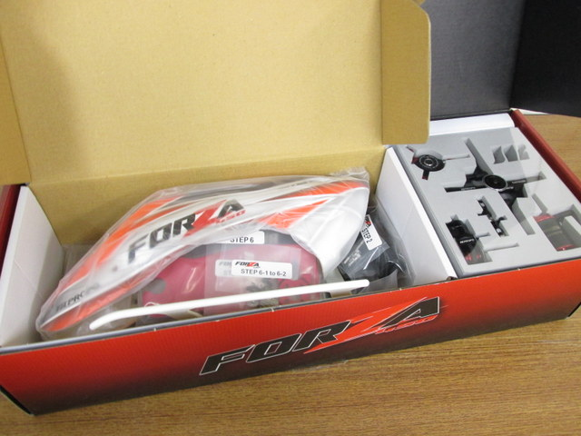 JR PROPO FORZA450 バッテリーコンボ (ラジコンヘリ)