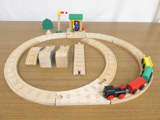 ラーニングカーブ 木製線路