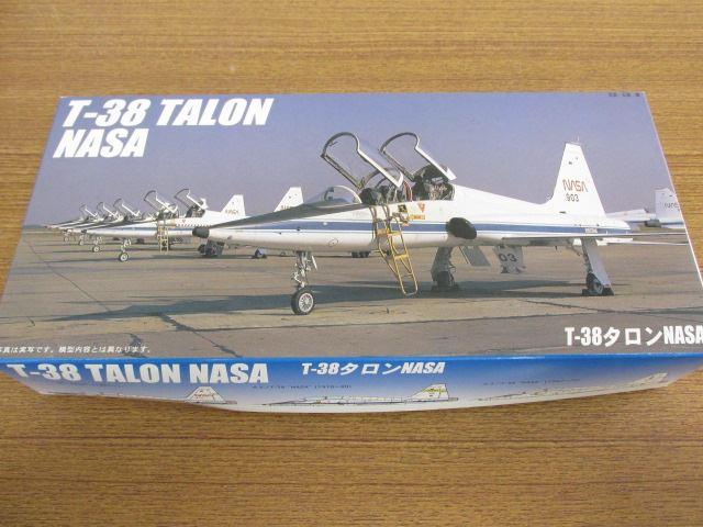 フジミ 1/48スケール プラモデル T-38タロンNASA F-43 超音速ジェット練習機
