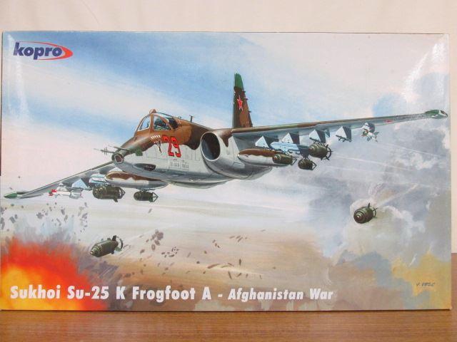 コプロ 1/48スケール スホーイ25KフロッグフットA ソ連地上攻撃機 アフガニスタン戦争