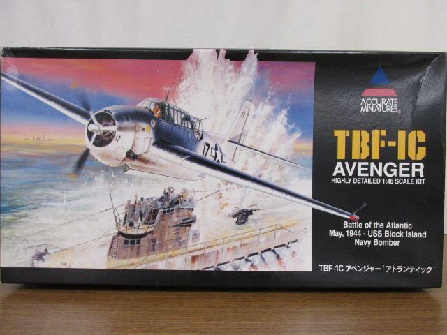 アキュレイトミニチュア 1/48スケール TBF-1C アベンジャー アトランティック アメリカ海軍雷撃機