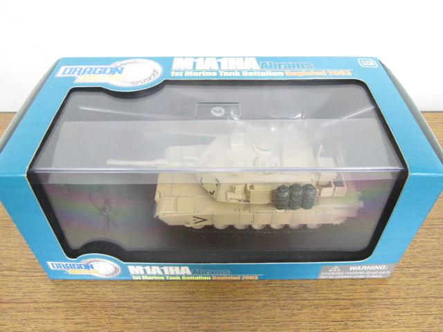1/72 戦車模型 ドラゴンアーマー  M1A1HA エイブラムス アメリカ海兵隊第1戦車大隊 バグダッド2003