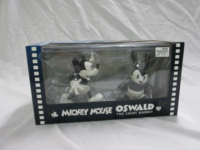 VCD ミッキーマウス & オズワルド フィギュア