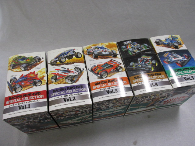 レーサーミニ四駆 メモリアルボックス Vol.1~5