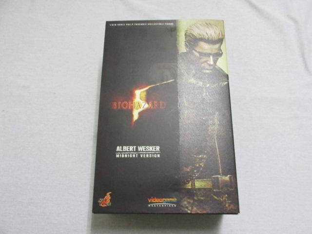 ホットトイズ ビデオゲームマスターピース 「アルバート ウェスカー ミッドナイトVer.」 (バイオハザード5)