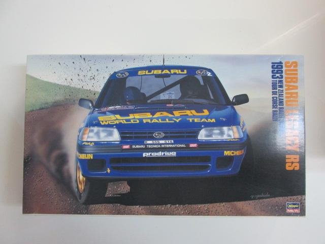 ハセガワ 1/24 スバルレガシィRS 1993ニュージーランドラリー優勝車/ツール・ド・コルスラリー[25014]