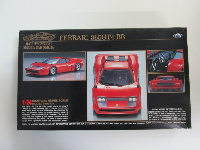 マルイ 1/24 ハイテクニカルモデルシリーズNo.6 「フェラーリ 365GT4 BB」