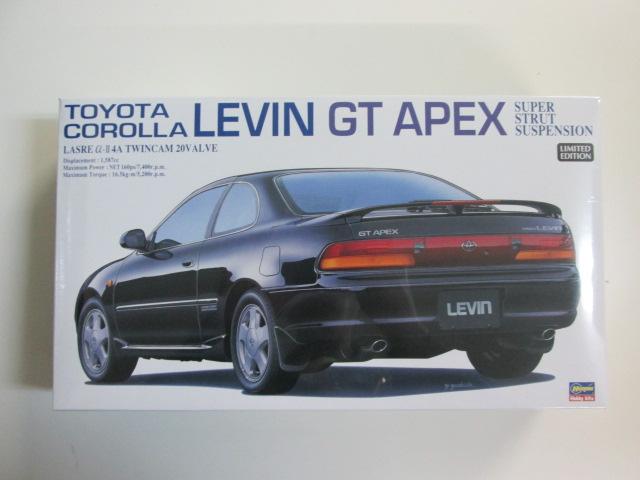 ハセガワ 1/24 トヨタ カローラ レビン GT APEX [20254]