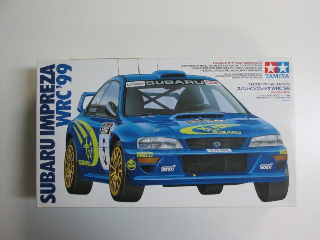 タミヤ 1/24 スポーツカーシリーズNo.218 「スバルインプレッサWRC '99」