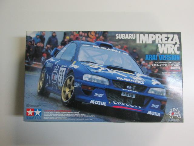 タミヤ 1/24 スポーツカーシリーズNo.227 スバルインプレッサ WRC 新井仕様