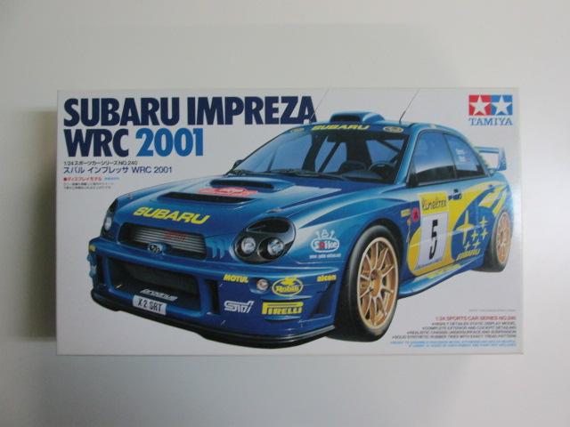 タミヤ 1/24 スポーツカーシリーズNo.240 スバルインプレッサ WRC 2001 [24240]