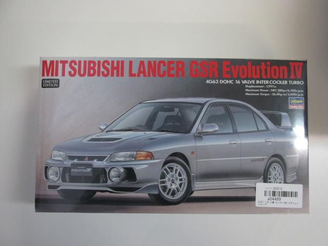 ハセガワ 1/24 三菱ランサーGSR エボリューション4 [20257]