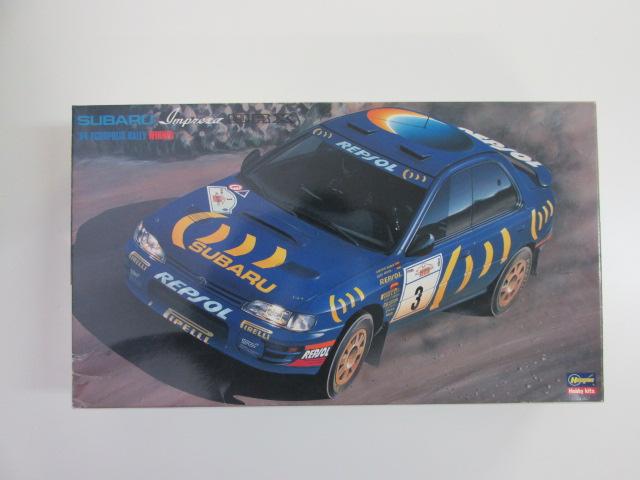 ハセガワ 1/24 スバルインプレッサWRX '94年アクロポリスラリー 優勝車