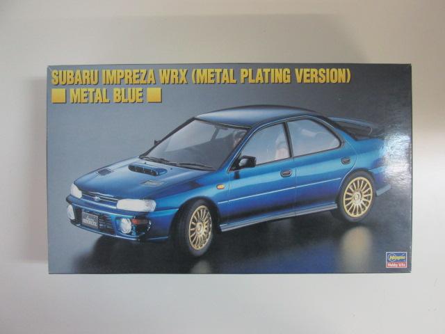 ハセガワ 1/24 スバルインプレッサWRX メタルコートバージョン・メタルブルー