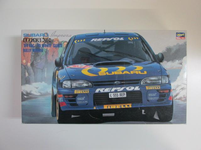 ハセガワ 1/24 スバルインプレッサWRX '94 RAC/'95 モンテカルロラリーウィナー