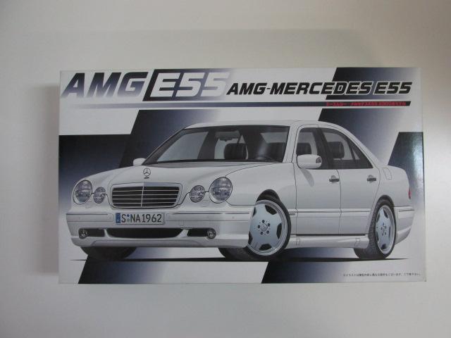 フジミ 1/24 リアルスポーツカーシリーズNo.40 「AMGメルセデス E55 2000年モデル」