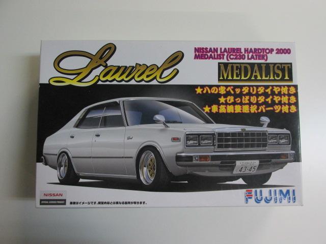 フジミ 1/24スケールプラモデル インチアップディスクシリーズNo.169 「ローレル・メダリスト(C230後期型)」