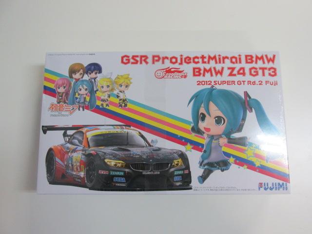 フジミ 1/24スケール プラモデル 「GSR ProjectMirai BMW Z4 GT3」 2012 SUPER GT Rd.2 Fuji (初音ミク)