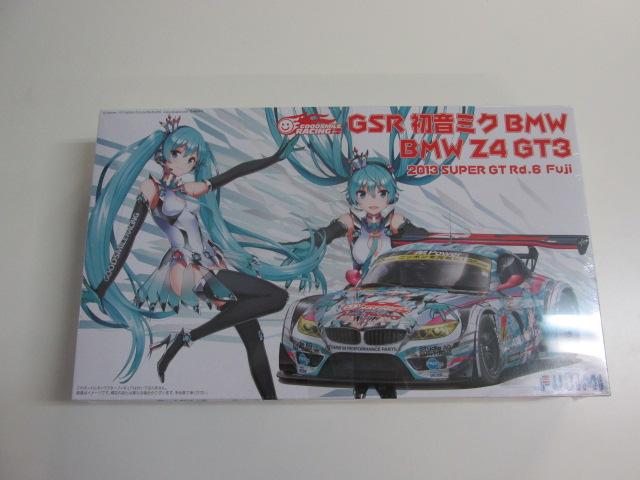 フジミ 1/24スケール プラモデル GSR 初音ミクBMW BMW Z4 GT3 2013 SUPER GT Rd.6 Fuji