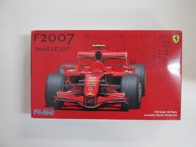フジミ 1/20スケール プラモデル フェラーリ F2007 ブラジルグランプリ スケルトンボディ