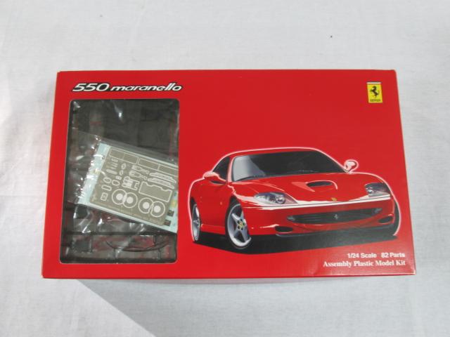 フジミ 1/24スケールプラモデル FRシリーズ フェラーリ 550 マラネロ グレードアップパーツ付